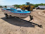 Alumacraft Lunker 14ss Boat And Trailer