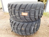 (2) 22/65r25 Tires