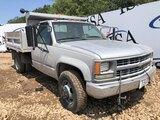 1994 Chevy 3500 4x4 Dump Truck