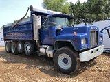 1988 Mack Rd688s Quad Dump Truck