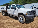 2004 Ford F550 Flatbed Truck