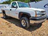 2004 Chevy Silverado 2500 4x4 Truck