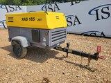 Atlas Copco Xas 185 Jd7 Trailer Compressor