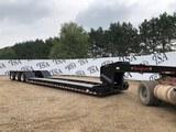 2021 Rampant Dg55 Tri-axle Lowboy Trailer