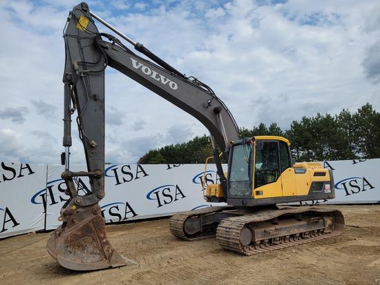 2014 Volvo Ec220dl Excavator