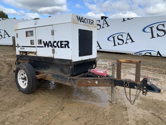 Wacker G25 20kw Generator