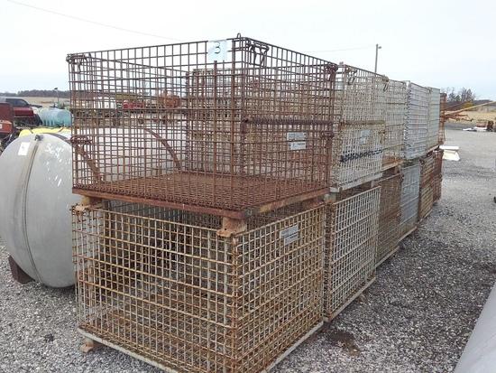 Wire work baskets.