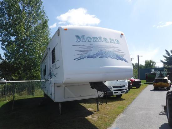 2003 Montana 5th Wheel camper