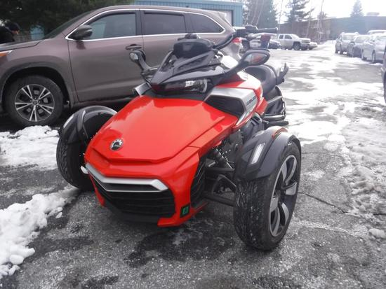 2015 CAN AM SPYDER F3S