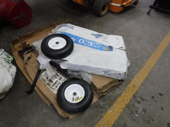 Utility Trailer Disassembled
