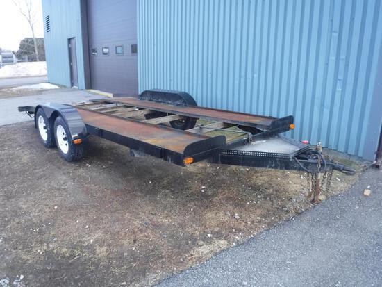 Homebuilt 16 ft trailer