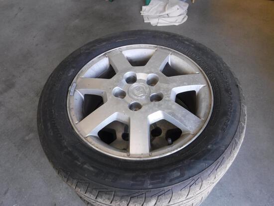 "16""Cadillac Rims & Tires"