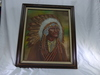 Indian Chief Oil Painting