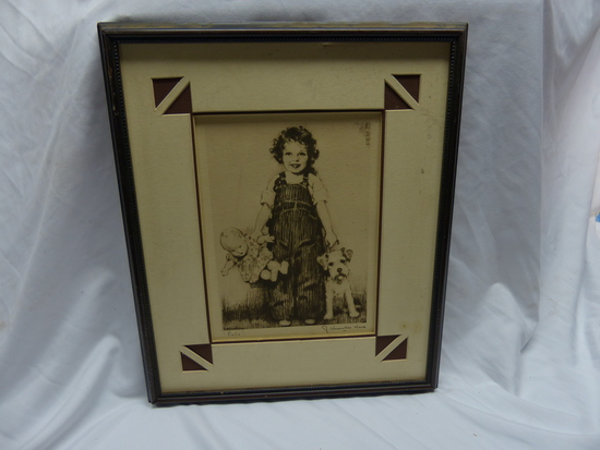 Shirley Temple Pals Print