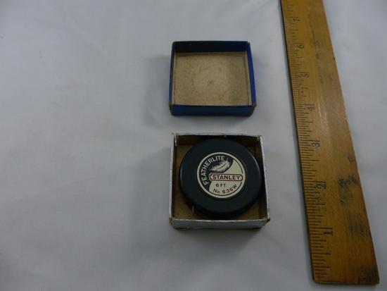 Vintage Stanley 6 Ft Tape Measure, German Scissors, Amprobe Amp Meter