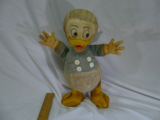 "Vintage Donald Duck 15"" Tall"