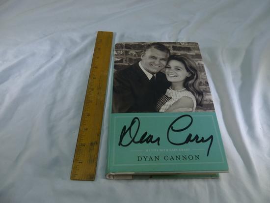 2001 Dear Cary 1st edition Dyan Cannon My Life with Cary Grant