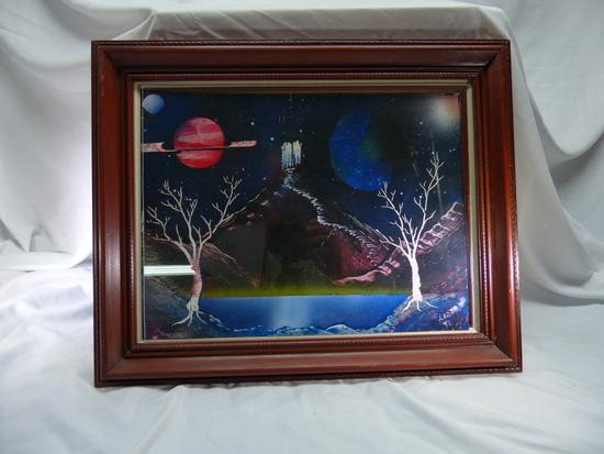 1992  Trees, Mountain, Planets Lara White