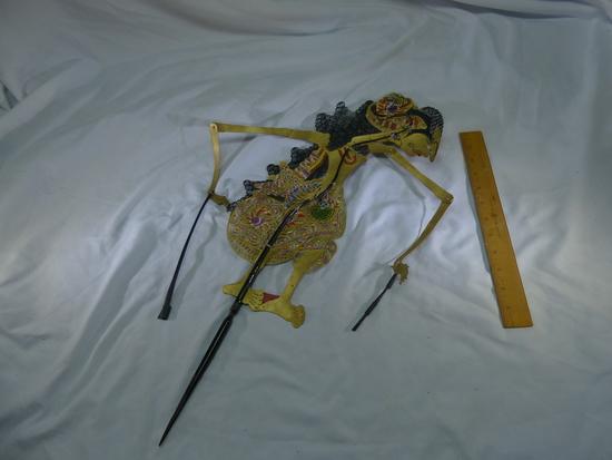19th Century Antique Tibet Shadow Puppet