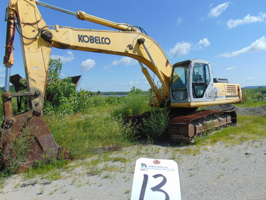 (2003) Kobelco mod. SK330, Excavator w/ Mitsubishi