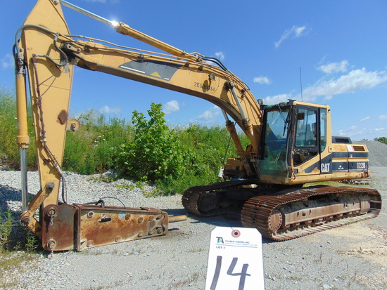 (1999) Cat mod. 322BL, Excavator w/ Breaker