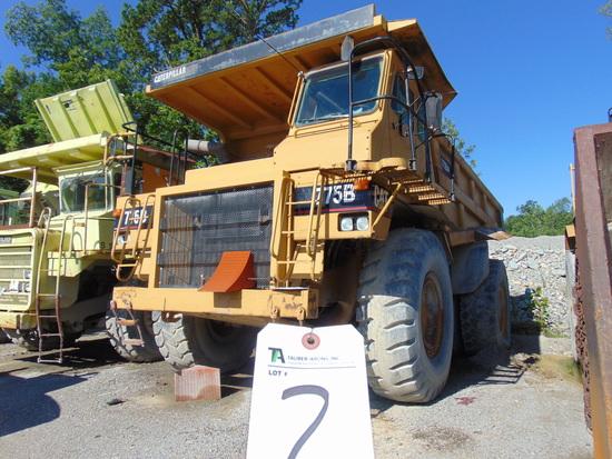 (1995) Cat mod. 775B, Haul Dump Truck, Engine