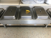 Counter Top Model 3 Compartment Chafing Dish, 8qt each