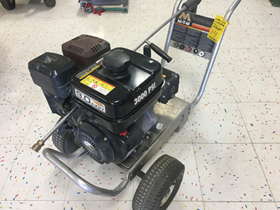 Mi-T-M CA-3003-OM-RB 3000 PSI Gas Powered Pressure Washer, Subaru Engine