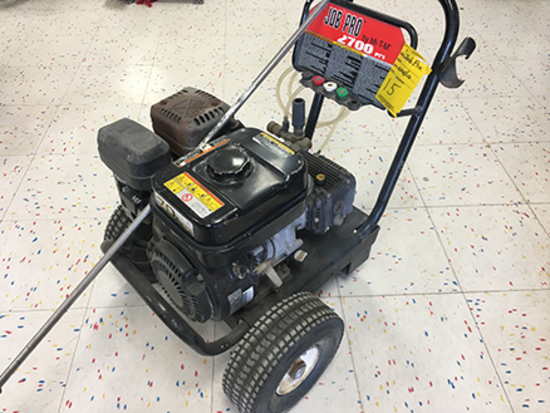 Job Pro by Mi-T-M 2700 PSI Gas Powered Pressure Washer, Subaru Engine