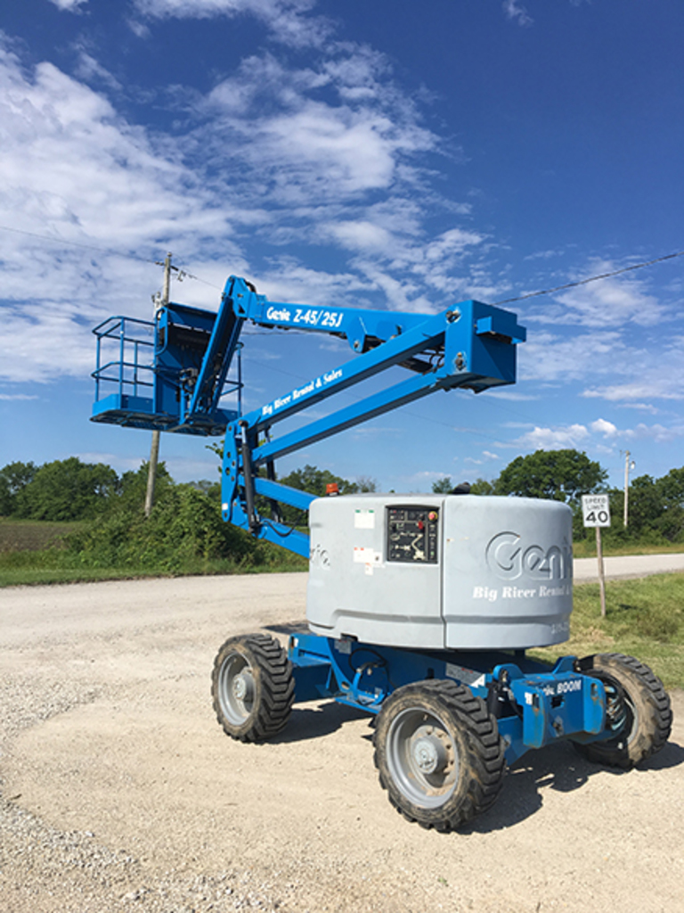 2013 Genie Z-45/25J Dual Fuel, 4WD, 51ft Maximum Working Height