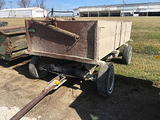 5x10 Rubber Wheel Wagon