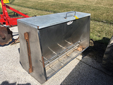 2 Sided Stainless Steel 50in Feeder