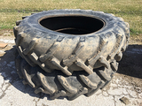 Pair of 18.4-38 Continental Tires