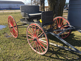 Horse Drawn Rubber wheel buggy