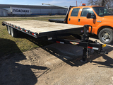 2014 H&H 20' deck over trailer,5'dove, Used very little