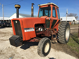 AC 7000 Cab Tractor, front weights, dual hyd, good 18.4-38 tires, reads 2406hrs