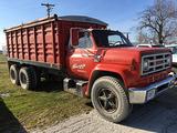 1979 GMC 7000 tandem axle grain truck, V8 4spd