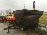 Grain-O-Vator Feed Cart