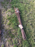 Lot of 19 Electric Fence Posts