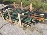Mixed 5 1/2 and 7 ft. T Posts