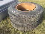 (2) 10.00-20 Tires