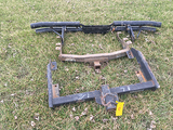 (2) Receiver Hitches and Tube Bumper