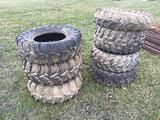 (7) Misc. ATV Tires