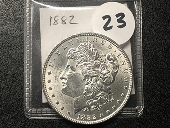 1882 Morgan Dollar, AU