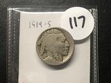 1914-S Buffalo Cent