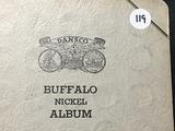 Book of 49 Buffalo Nickels