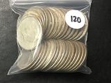 32x$ Silver Kennedy Half Dollars
