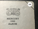 Book of (74) Mercury Dimes 1916-1945 Only Missing 3 Coins