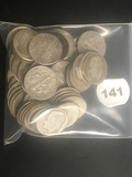Lot of 57 Silver Roosevelt Dimes