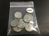 Lot of (11) Steel Pennies